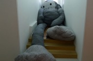 Florentijn Hofman's super sized stuffed animals