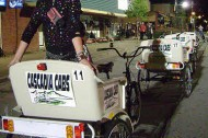 The pedicab: a low-carbon solution for a night out drinking