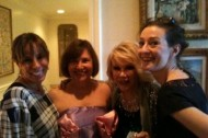 Back from Passover with Joan and Melissa Rivers