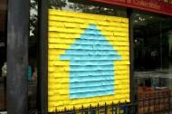 Post your rent window display