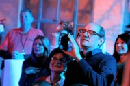 Richard Jenkins sees a double rainbow at Sundance with Jason Mraz