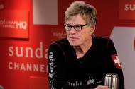Robert Redford stops by Sundance Channel HQ — See photos inside