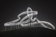 The world's slowest roller coaster in Duisburg, Germany