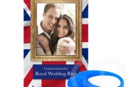 "A commemorative royal wedding ""ring"""