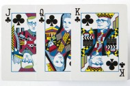 Deck of cards honoring NYC creative royalty