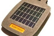 Suntrica's solar charger: not just cool and wearable