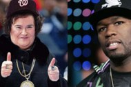 50 Cent featuring Susan Boyle, not Lil' Kim