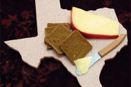 Creative reuse: the Texas-shaped serving board