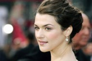 Rachel Weisz puts her lips together and blows
