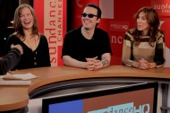 Amy Berg,  Lorri Davis and Damien Echols of WEST OF MEMPHIS dish at Sundance Channel HQ– click for photos