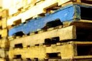 Recycling wooden pallets for America Recycles Day