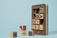 Best of the Web: A wooden iPhone & delicious, cheeseburger wrapping paper