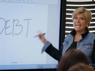 Suze Orman grills the kids on the dangers of irresponsible spending.