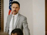 David Arquette tries to get the students to open up about Kyle leaving the school.