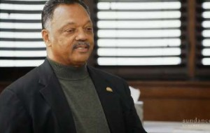 Jesse Jackson enraptures the kids with his history lesson on the Civil Rights Movement.