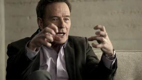 Bryan Cranston's first acting class was unexpectedly passionate.