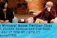 """The Writers' Room"" Twitter Chat with Shonda Rhimes and Jim Rash"