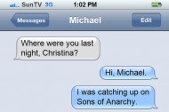 """Michael Showalter Agrees You Should Eat the Evidence on """"Sons of Anarchy"""""""