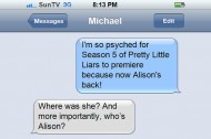 "Is ""Pretty Little Liars"" too sexy for Michael Showalter?"