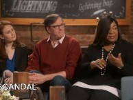 Shonda Rhimes tells Jim Rash about meeting the real-life professional fixer that inspired Scandal.