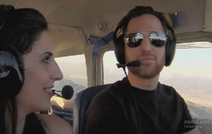 As they take to the skies, Mia reconsiders her relationship with Barak.