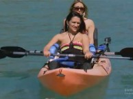 While celebrating Tiphany's birthday in Mexico, the ladies trade in their wheels for paddles.