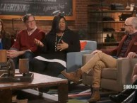 Scandal creator Shonda Rhimes talks about connecting with fans through social media.