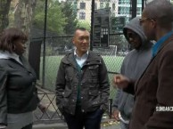Joe Zee finds out how the street peddlers of knockoff handbags jusitfy their actions.