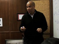 Newark stands on the edge of bankruptcy as Cory Booker calls an emergency budget meeting.
