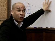 Mayor Cory Booker discusses plans for the two worst budget years since the great depression in Newark, New Jersey.