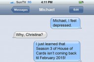 """Michael Showalter Doesn't Care About Christina Lee's """"House of Cards"""" Withdrawal"""