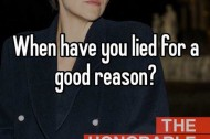 The Best Times to Lie, According to Whisper