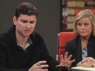 Series creator Mike Schur reveals the origins of the 'Parks and Recreation.""