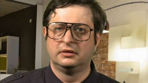 What do nerds drink? Eugene Mirman's Cold 45, of course.
