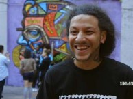 At first scared to attempt art, Raeshawn opens up to graffiti artist Don Rimx when he is shown some pointers.