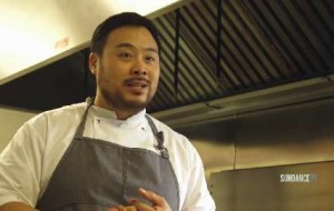 Celebrity chef David Chang helps the DREAM SCHOOL: NYC students to prepare a healthy and delicious meal from locally sourced ingredients.