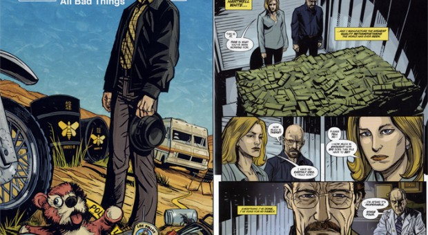 """""""Breaking Bad"""" Fans: Here's Your Chance to Win the """"Breaking Bad"""" Comic Book"""