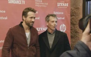 "SundanceTV joins Ryan Reynolds at the Chase premiere party for ""Mississippi Grind"" during the 2015 Sundance Film Festival."