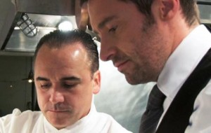 Hugh Jackman relates his acting process to the culinary expertise of Jean-Georges.