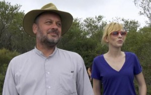 Tim Flannery and Cate Blanchett appreciate the unpoiled natural wonders of Sydney.
