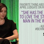 Aubrey Plaza Behind the Story Parks and Recreation meme
