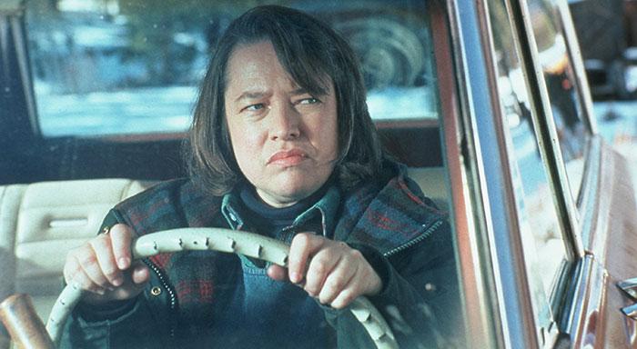 photo of Kathy Bates  - car