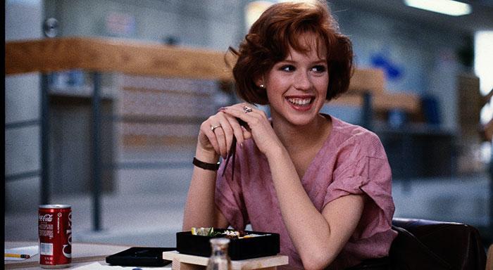 Molly Ringwald in The Breakfast Club