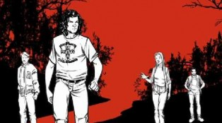 Explore the backstory of THE RED ROAD with the online graphic novel.