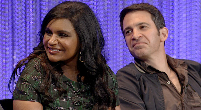 Behind the Story The Mindy Project Mindy Kaling Chris Messina