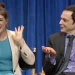 Mayim Bialik Jim Parsons Behind the Story Big Bang Theory