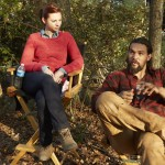 Jason Momoa and Allie Gonino THE RED ROAD Episode 203 Intruders