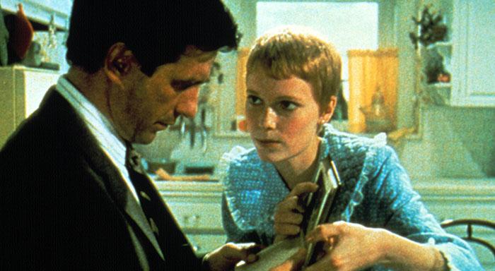John Cassavetes Mia Farrow in Rosemary's Baby 700x384