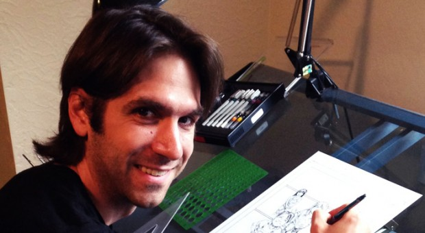 "6 Questions with ""THE RED ROAD"" Graphic Novel Illustrator Phillip Sevy"