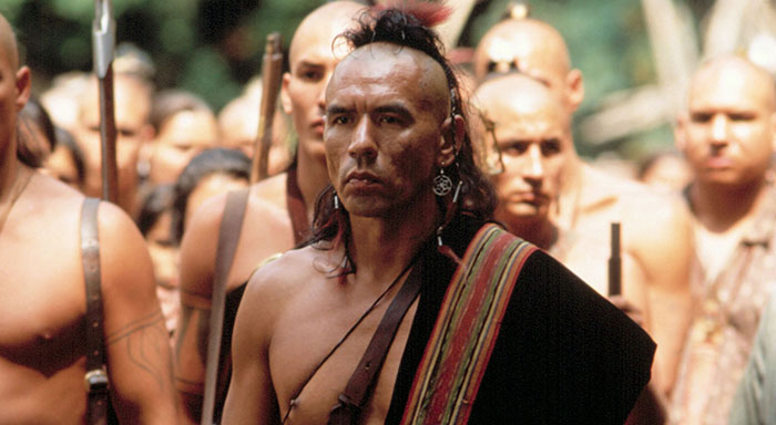 Wes Studi in Last of the Mohicans